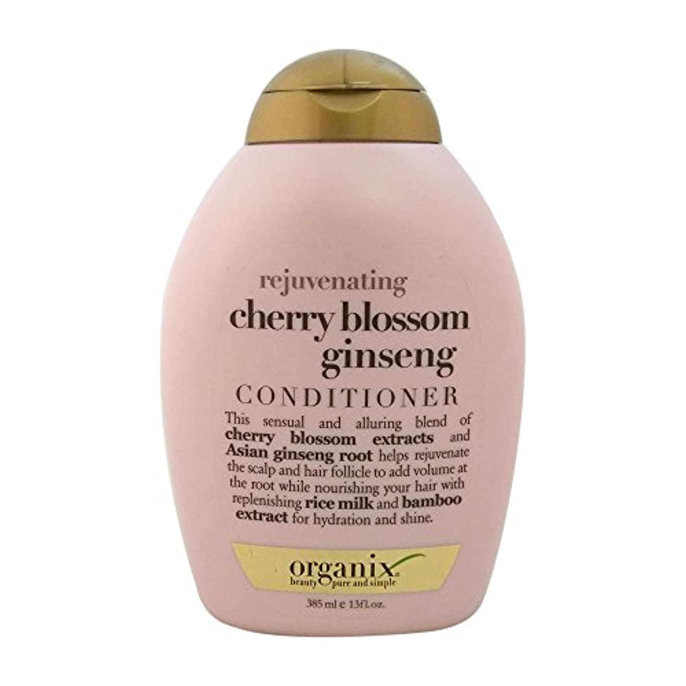 請求可能ジャンクション保証金Organix rejuvenating hair conditioner cherry blossom ginseng - 13 oz (並行輸入品)