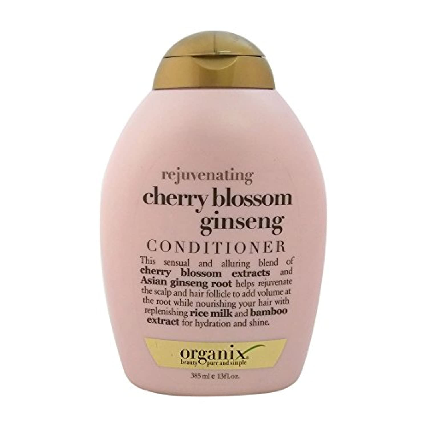 鼓舞する大きさグローブOrganix rejuvenating hair conditioner cherry blossom ginseng - 13 oz (並行輸入品)