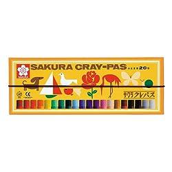 サクラクレパス クレパス太巻 20色 LP20R