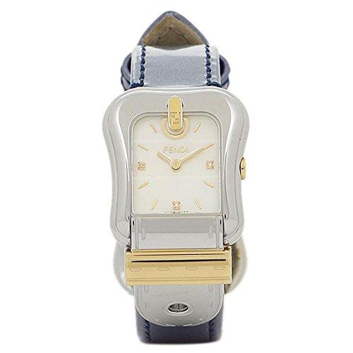 [フェンディ] 腕時計 レディース FENDI F380124531D1 ホワイトパール シルバー ブルー [並行輸入品]