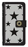 スマホケース 手帳型 iPhone8Plus ケース 8035-A. スターブラック iPhone8Plus ケース 手帳 [iPhone8Plus] アイフォンエイトプラス