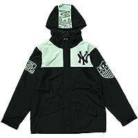 Majestic(マジェスティック) ニューヨーク・ヤンキース マウンテンプリントパーカー(ブラック) MM23-NYK-0108-BLK4 M