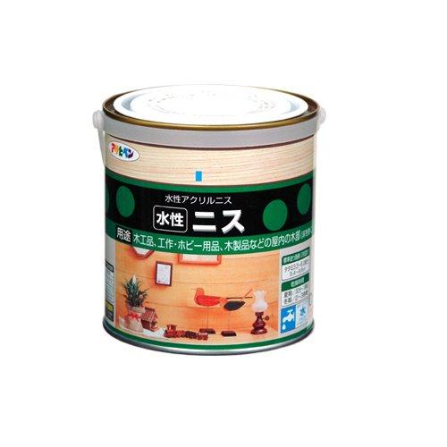 アサヒペン 水性ニス クリヤ 缶0.7l