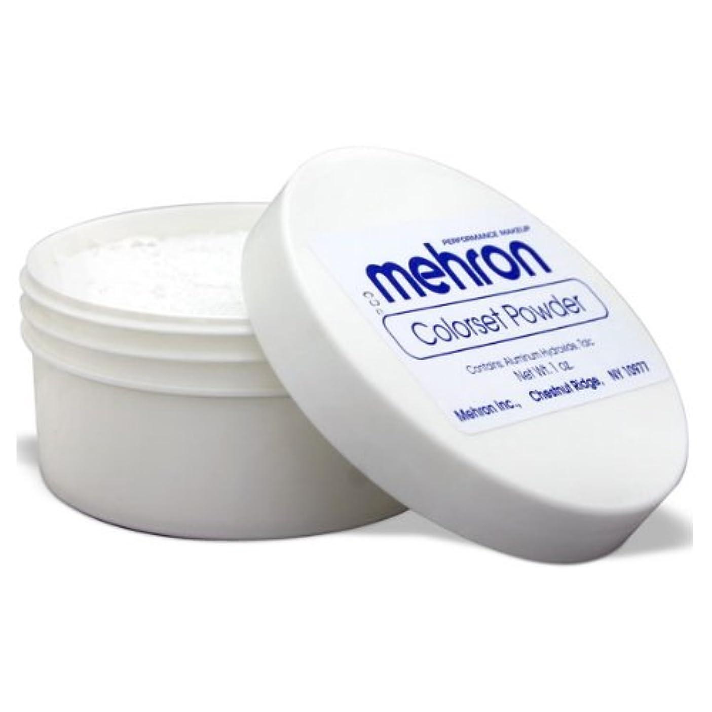 ヒューム割る体系的に(3 Pack) mehron Colorset Powder - Translucent (並行輸入品)