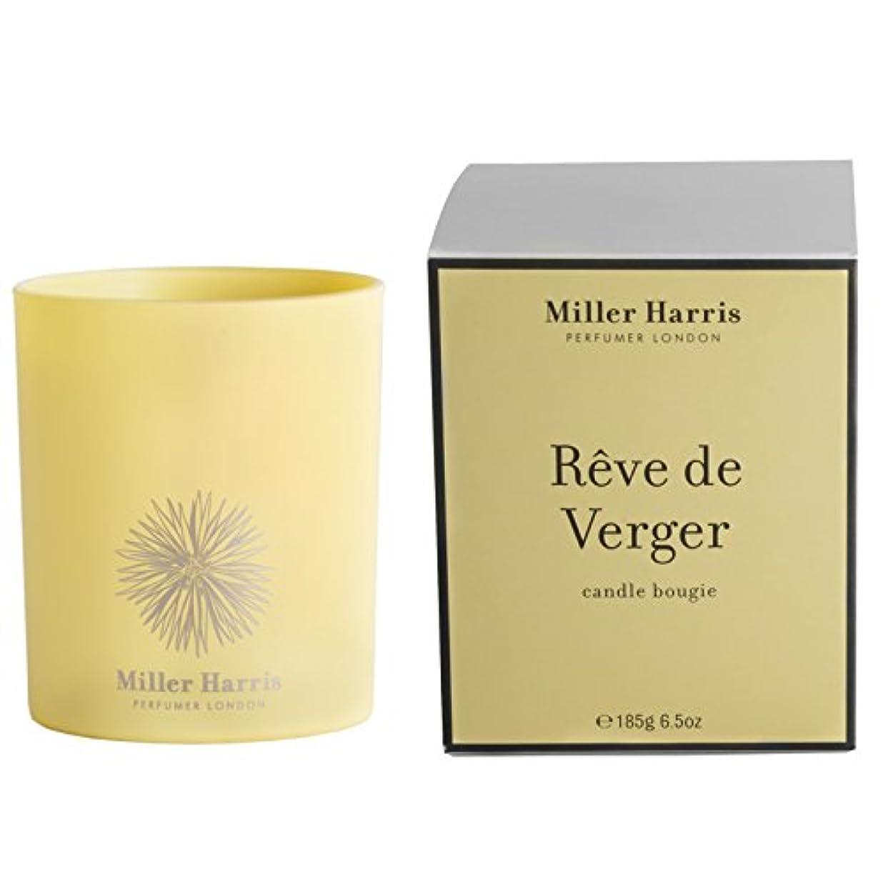 撤回する口実配管工ミラーハリス Candle - Reve De Verger 185g/6.5oz並行輸入品