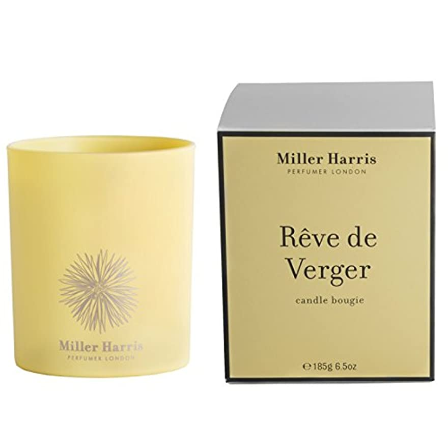 ミラーハリス Candle - Reve De Verger 185g/6.5oz並行輸入品