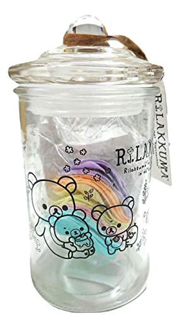悪用対角線平らにするリラックマ バスフレグランス ボトル(ROSE)入浴剤 ギフト