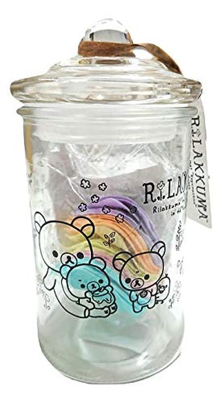 ハリケーン公園凝視リラックマ バスフレグランス ボトル(ROSE)入浴剤 ギフト