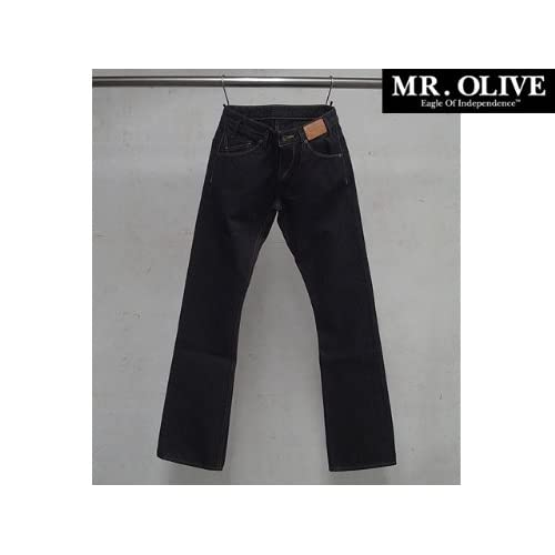 MR.OLIVEミスターオリーブ 13.5oz SUPIMA SELVAGE DENIM/ONE WASH JEANS 10AW mrolive48338 色STRAIGHT サイズ32