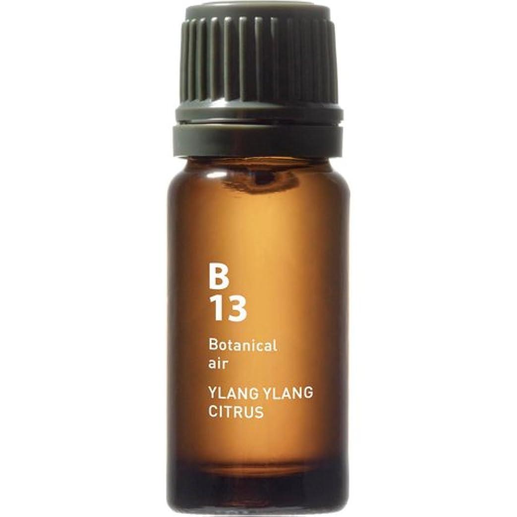 相対サイズ病的尋ねるB13 イランイランシトラス Botanical air(ボタニカルエアー) 10ml