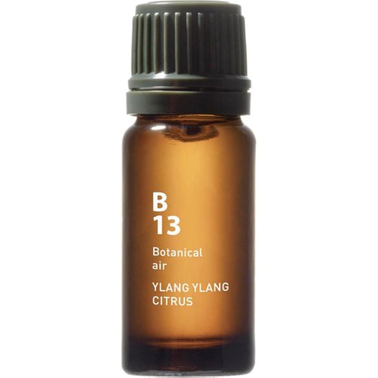 パーセント写真を描く重々しいB13 イランイランシトラス Botanical air(ボタニカルエアー) 10ml