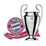 fc bayern(バイエルンミュンヘン) オフィシャル 2013 UEFAチャンピオンズリーグ 優勝記念ピンバッジ サッカー サポーター グッズ [並行輸入品]