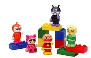 ブロックラボ アンパンマン ブロックといっしょに遊べる! アンパンマンブロックドールセット(ワールドブロックシリーズ)