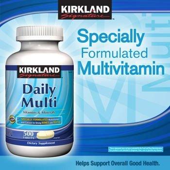 KIRKLAND デイリー マルチビタミン&ミネラル 500...