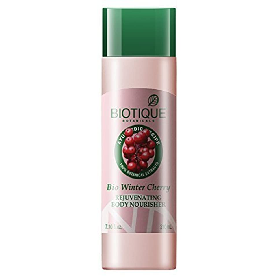 世論調査現実的タンクBiotique Winter Cherry Body Lotion - Winter Cherry 210ml by Biotique [並行輸入品]