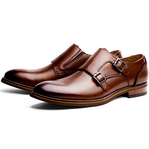 (フォクスセンス) Foxsense ビジネスシューズ 紳士靴 革靴 本革 メンズ モンクストラップ 6枚目のサムネイル