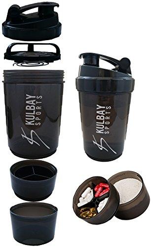 Kulbay Sports 2.0 プロテインシェイカー 500ml シェーカーボトル