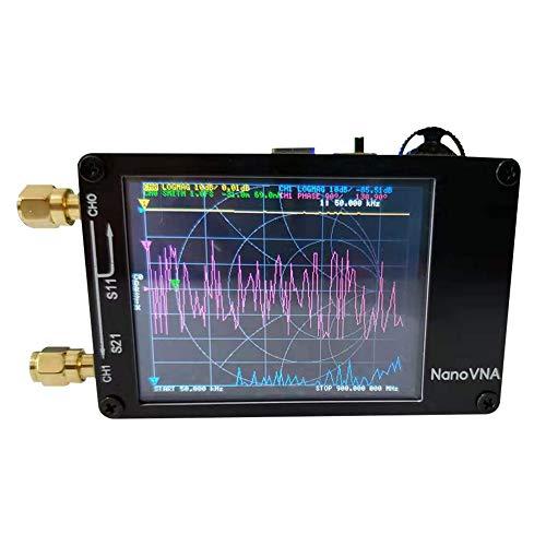 NanoVNAベクトルネットワークアナライザー50KHz〜900MHzデジタルディスプレイタッチスクリーン短波MF HF VHF UHFアンテナアナライザー定在波