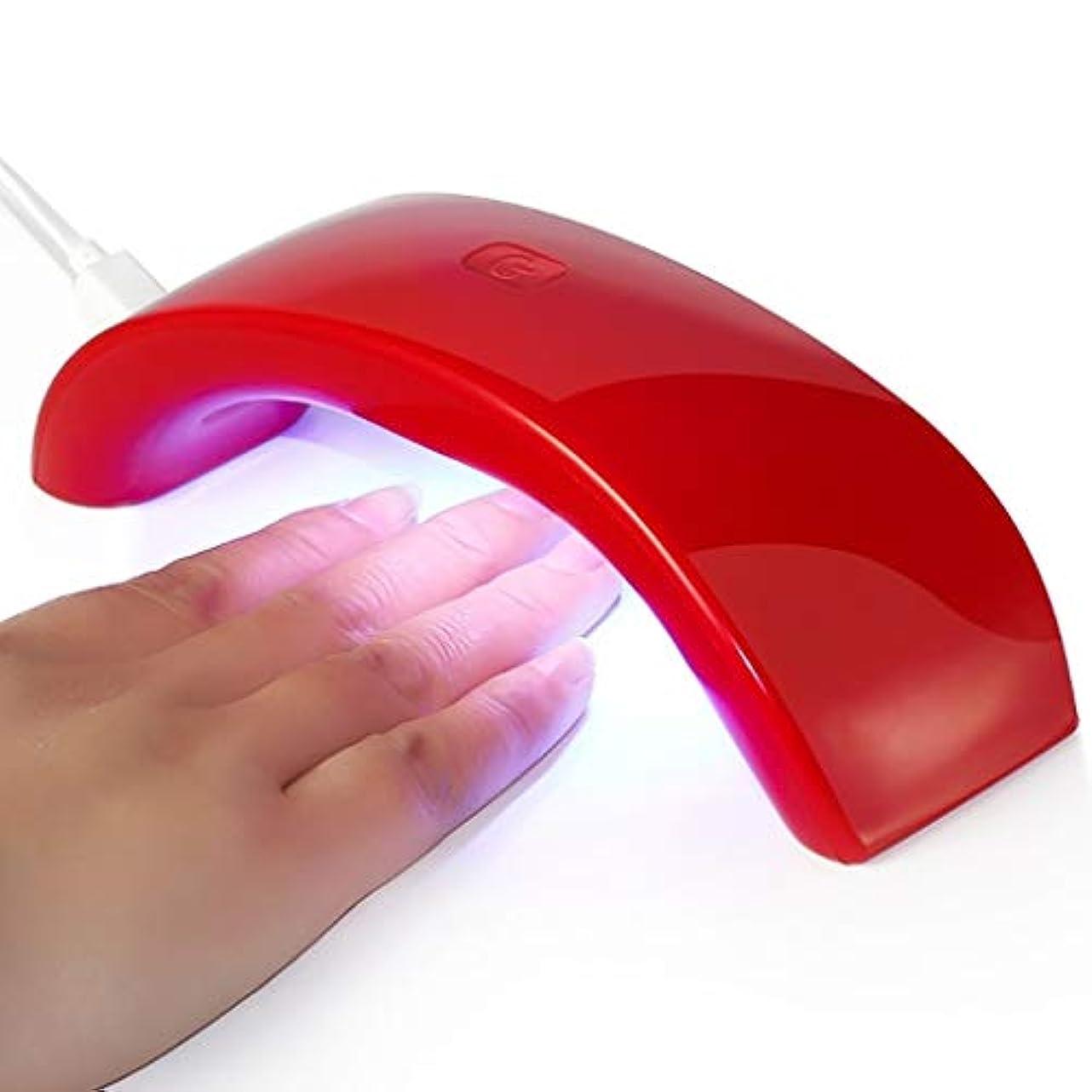 彼ら用心するマトリックスLedネイルランプuvネイルツール光線療法機12ワットネイルドライヤーusbポータブルミニネイルランプ