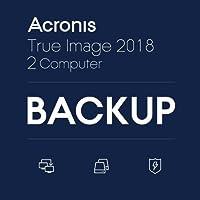 Acronis True Image 2018 - 2 Computers(ダウンロード版) オンラインコード版