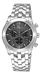 [BURBERRY]バーバリー メンズ 腕時計 ニューヘリテージ クロノグラフ【BU1850】ブラック[並行輸入品]