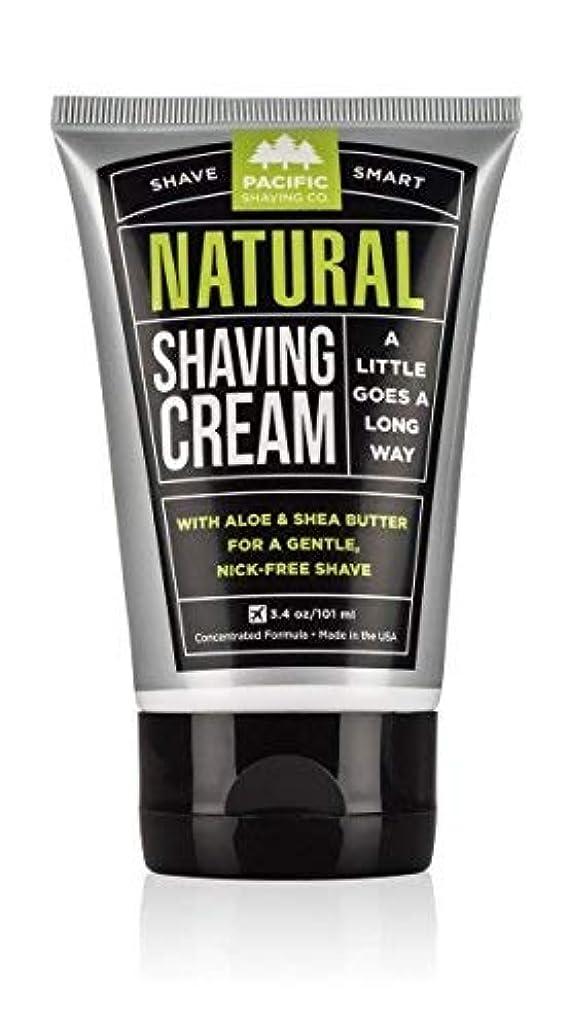 エクステントキャベツ悪行Pacific Shaving Company Natural Shaving Cream Best Shave Cream for Men and Women - Safe and Natural Ingredients...