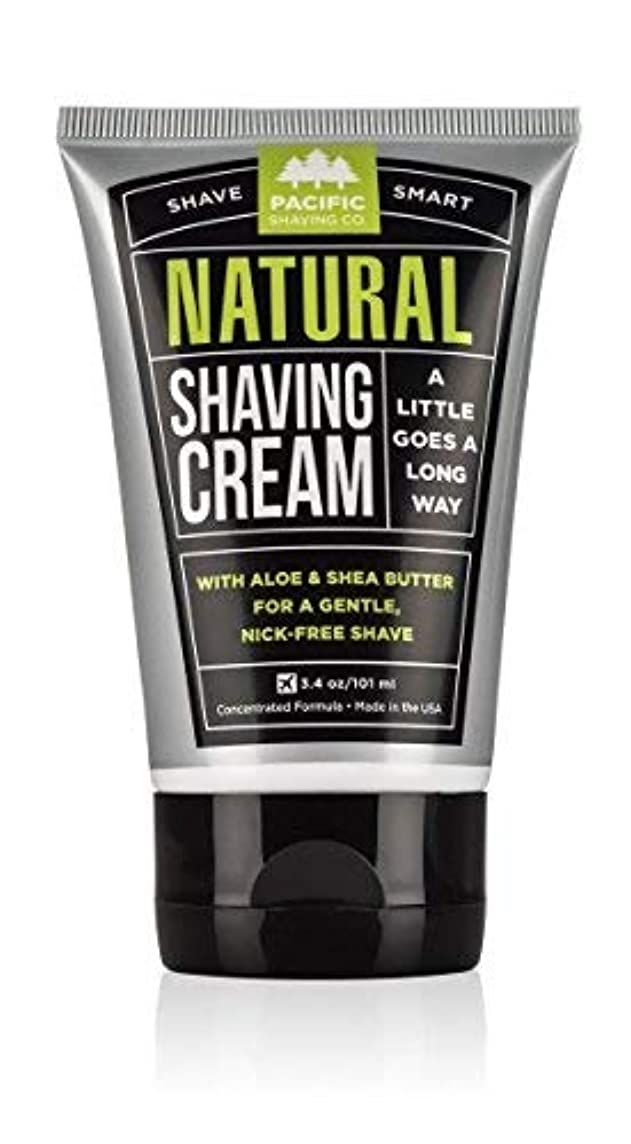 塩船尾エゴイズムPacific Shaving Company Natural Shaving Cream Best Shave Cream for Men and Women - Safe and Natural Ingredients...