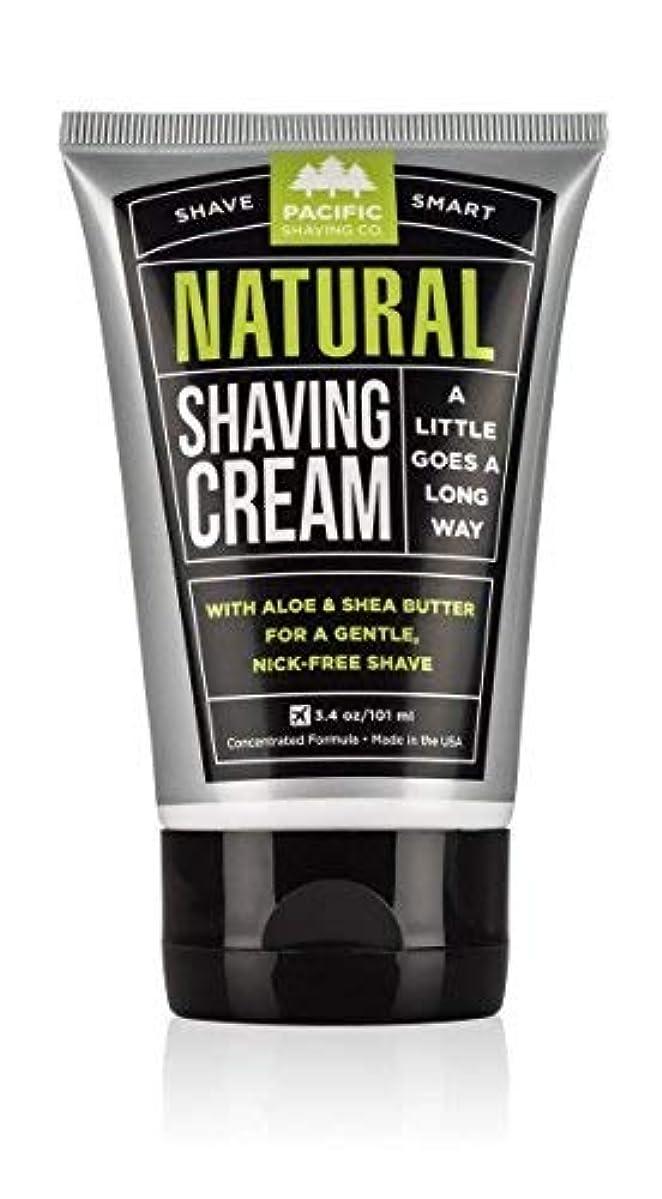 レジデンス然としたオーバーコートPacific Shaving Company Natural Shaving Cream Best Shave Cream for Men and Women - Safe and Natural Ingredients...