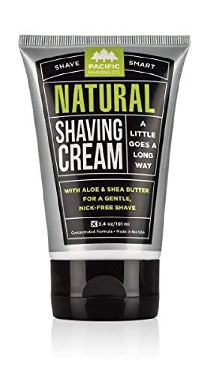 に応じてブレイズマーガレットミッチェルPacific Shaving Company Natural Shaving Cream Best Shave Cream for Men and Women - Safe and Natural Ingredients...