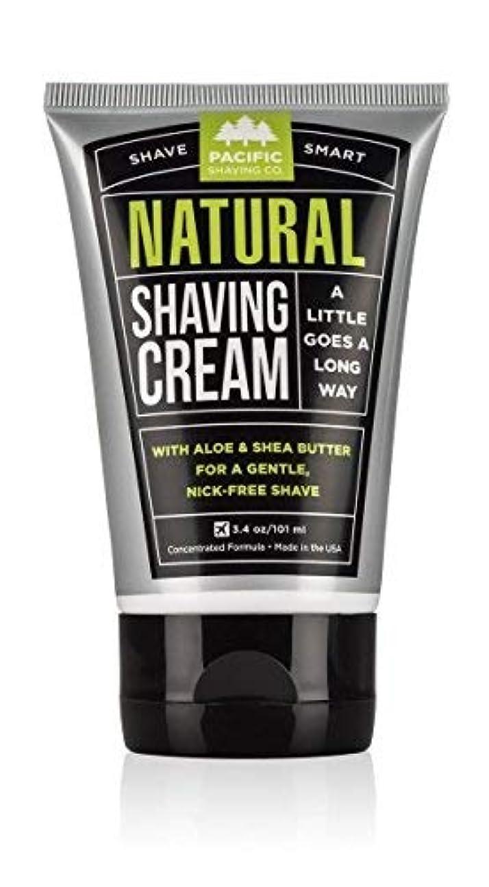 逆荒廃する砂Pacific Shaving Company Natural Shaving Cream Best Shave Cream for Men and Women - Safe and Natural Ingredients...
