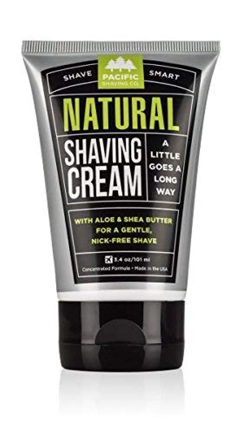 対抗わかりやすいまさにPacific Shaving Company Natural Shaving Cream Best Shave Cream for Men and Women - Safe and Natural Ingredients...