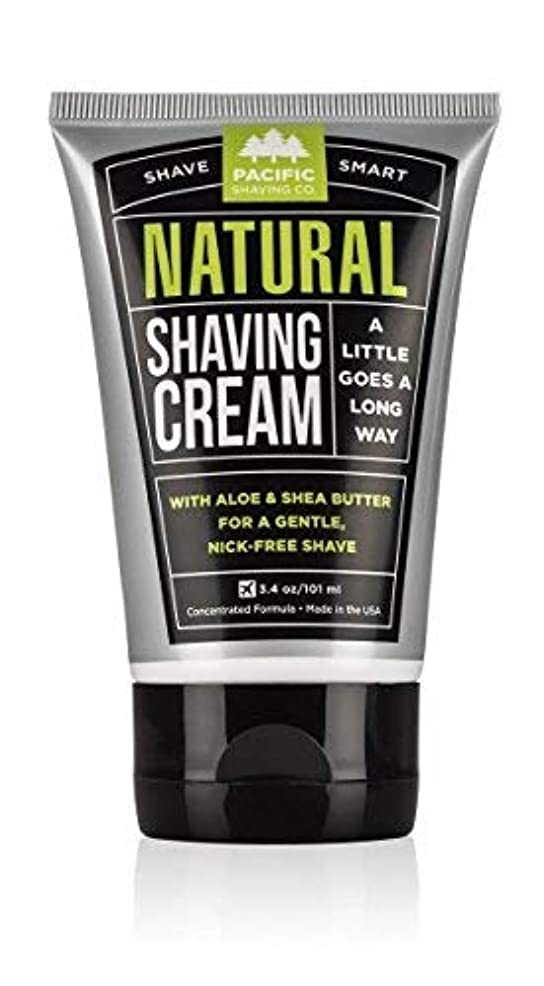 誰か迷惑仕立て屋Pacific Shaving Company Natural Shaving Cream Best Shave Cream for Men and Women - Safe and Natural Ingredients...