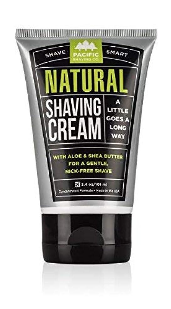全員アイドル遅れPacific Shaving Company Natural Shaving Cream Best Shave Cream for Men and Women - Safe and Natural Ingredients Travel/TSA Friendly [並行輸入品]
