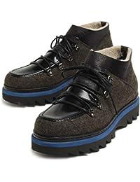 ALBERTO GUARDIANI アルベルトガルディアーニ マウンテン ブーツ 靴 77081C カーキ