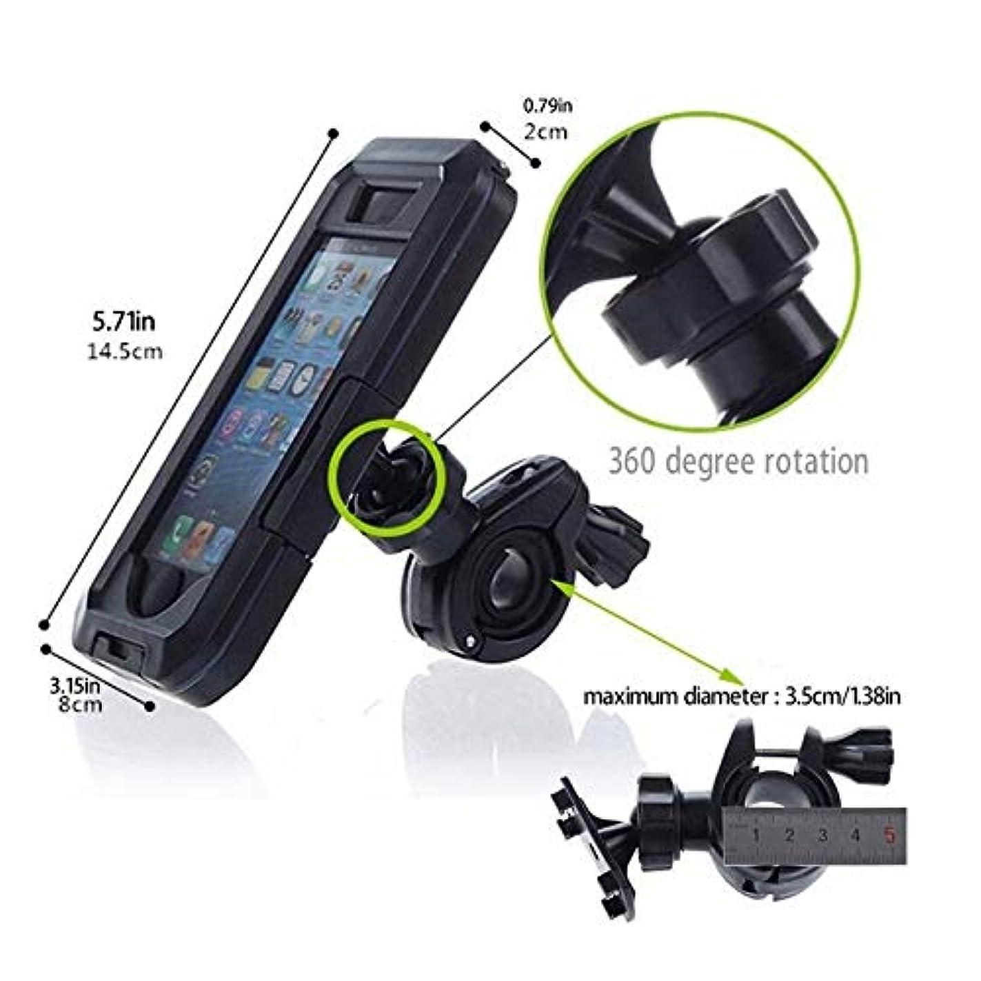 すばらしいです現れる宇宙船自転車アクセサリー オートバイ自転車携帯電話ホルダー携帯電話サポートバイクiphone 11プロマックスSE 2020 XS XRのためのiphone 11 Proの防水ケース用スタンド アクセサリーホルダー