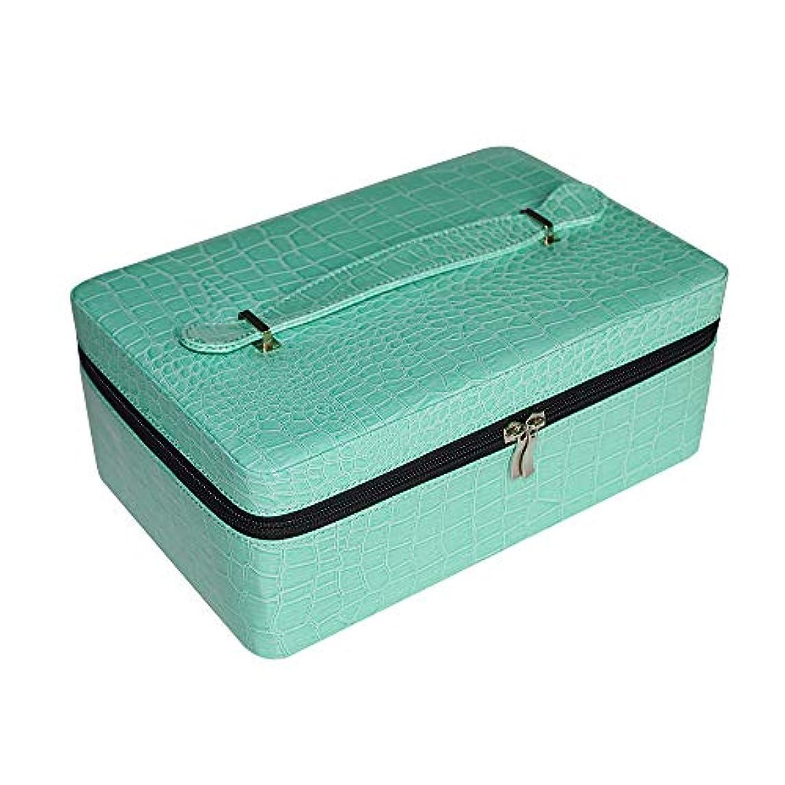 滴下打ち上げる完璧なDecdeal エッセンシャルオイル収納ボックス エッセンシャルオイルキャリングケース 精油ケース 40本用 大容量 15ml ポータブルホルダーケースボックス