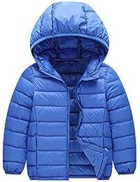 Windway 子供用 軽量 ダウンジャケット 帽子付き ダウンコット 登山 防風 旅行 13色入り