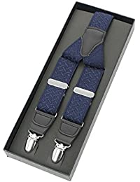(ヨウフクノアオヤマ)洋服の青山 【フリーサイズ】【日本製】サスペンダー SUS-BAND4972