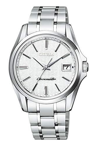 [ザ・シチズン] THE CITIZEN 腕時計 高精度エコ・ドライブ 土佐和紙文字板 10年間メーカー保証 AQ4020-54Y メンズ [正規品]