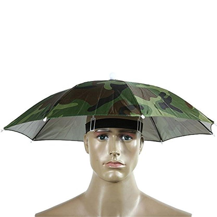 前売映画電気的sfe-umbrellaキャップ、傘帽子キャップ手フリーwithヘッドストラップfor Sun雨、ゴムバンド釣りHeadwear傘帽子 パープル SFE-125