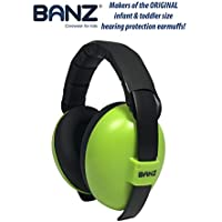 Banz Mini Earmuffs, Lime