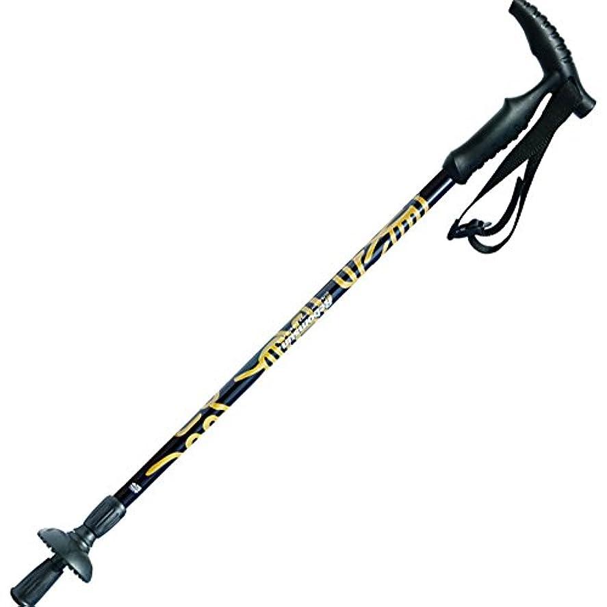 ライター電気的ページAlpenstocks炭素繊維ハイキング引っ込み可能な調節可能な衝撃吸収ノンスリップポータブルウォーキングスティック多機能屋外スポーツアルペンストック屋外スポーツマン用 歩行 登山用品 付属品