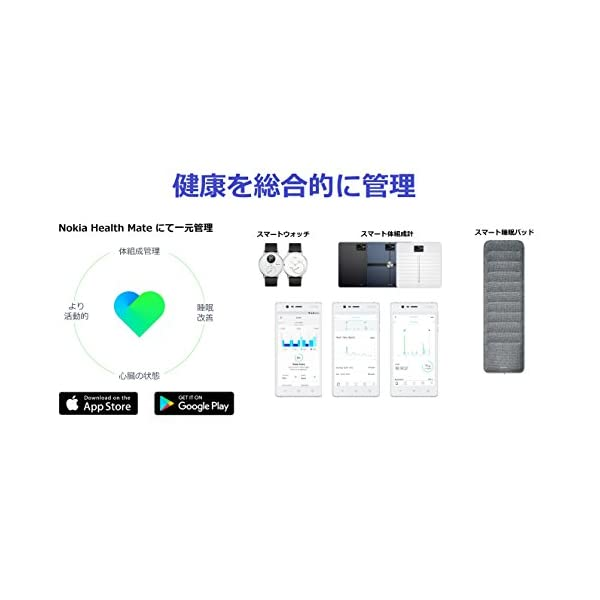 Nokia スマートウォッチ Steel HR...の紹介画像4