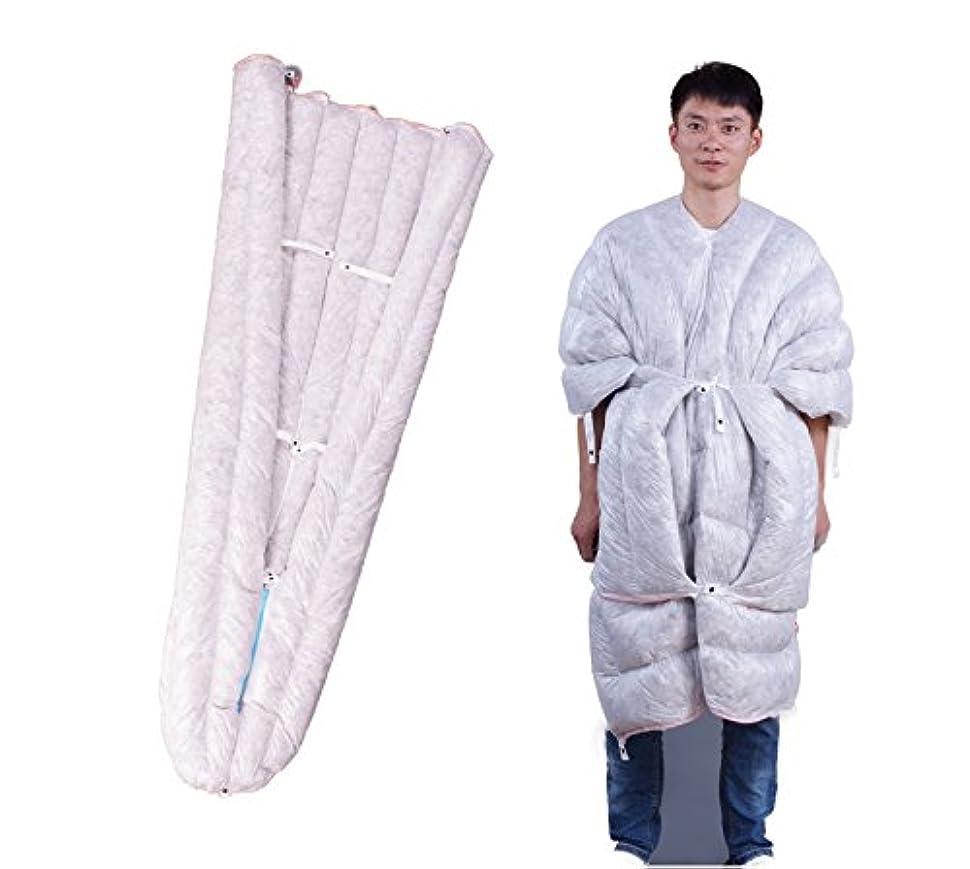 良さ製造業砂漠WIND HARD 手のひらサイズ! ただの496g! Multi-Use 最軽量グースダウン寝袋 ウルトライト封筒型ダウン寝袋 高級かつ超綺麗な羽毛採用【 耐寒温度 2℃~7℃ FP850】