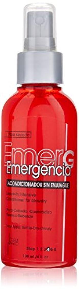 TOQUE MAGICO Emergencia リーブインBlowdry、4オンスのために集中コンディショナー