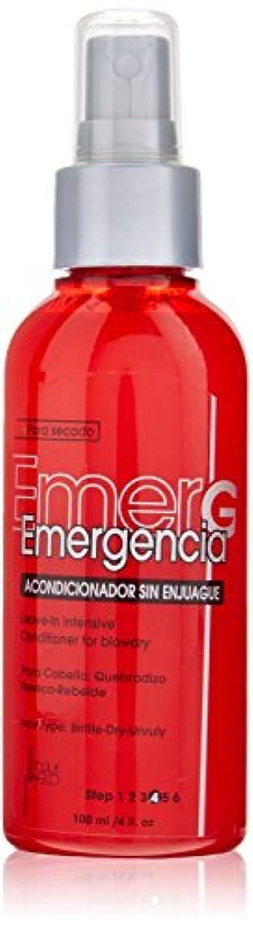 美的そこ味付けTOQUE MAGICO Emergencia リーブインBlowdry、4オンスのために集中コンディショナー