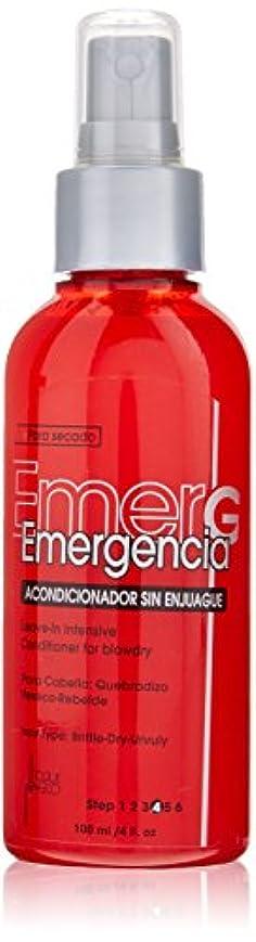 お祝いラブ焦げTOQUE MAGICO Emergencia リーブインBlowdry、4オンスのために集中コンディショナー