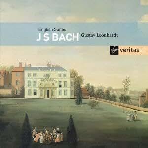 バッハ:イギリス組曲 全6曲