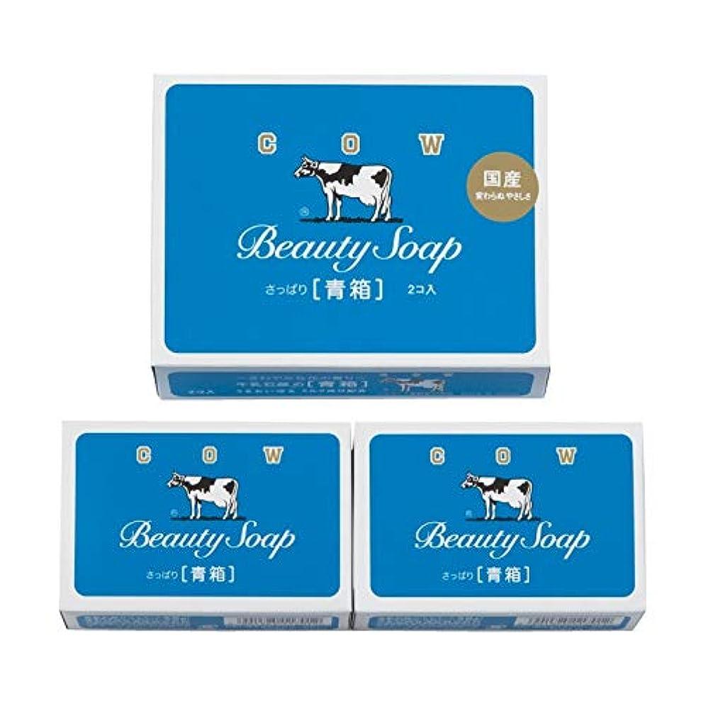 牛乳石鹸 青箱2コ入 【粗品 洗面所 石鹸 牛乳石鹸 うるおい 美容 さっぱり セット 優しい やさしい】
