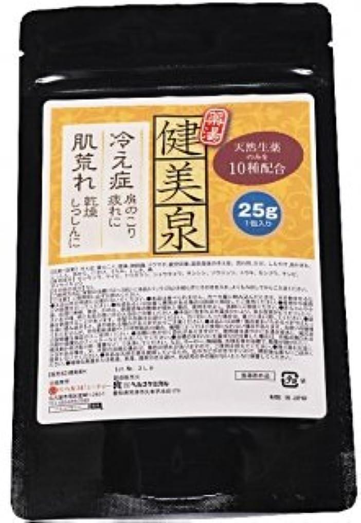 プロフェッショナル組み合わせるミシン健美泉 1回分 刻み 生薬 薬湯 分包 タイプ 天然生薬 の 香り 医薬部外品